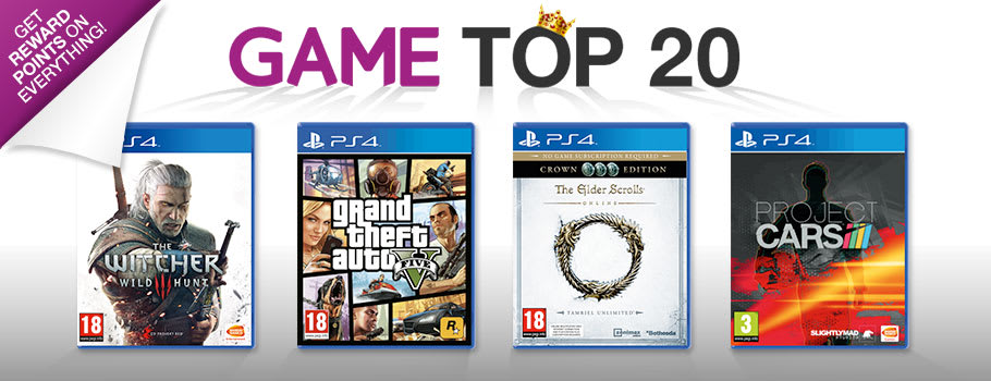 Top 20 PlayStation 4 Games - Buy Now at GAME.co.uk!