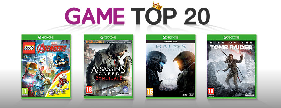 GAME Top 20 Chart games for Xbox One - Buy Now at GAME.co.uk