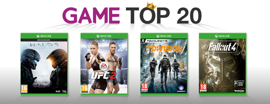 Top 20 Chart for Xbox One - at GAME.co.uk!