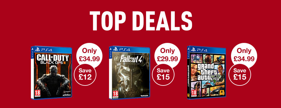 Top Deals for PS4 Games - Buy Now at GAME.co.uk!