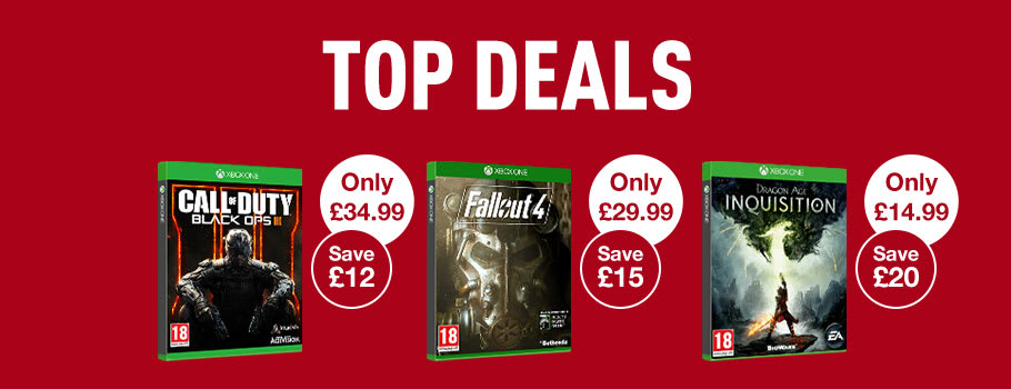 Top Deals for Xbox One Games - Buy Now at GAME.co.uk!