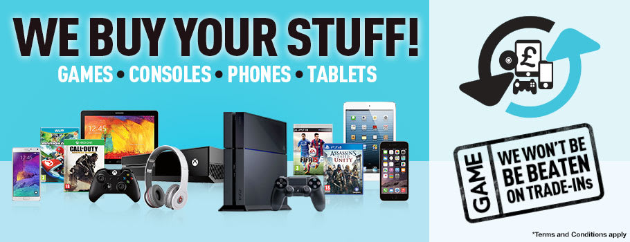We buy Your Stuff! Trade-In Today!