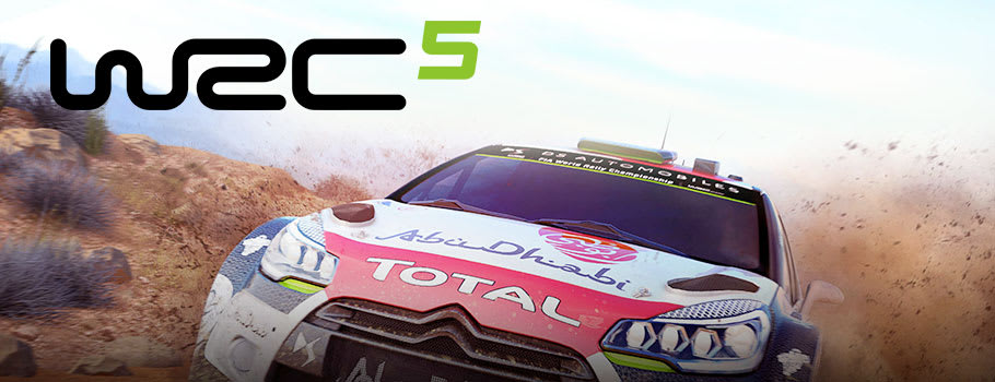 WRC 5 for PlayStation 3 - Pre-order Now at GAME.co.uk!