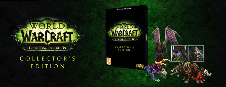 World of Warcraft Legion Pre-purchase Box for PC - Pre-purchase Now at GAME.co.uk!