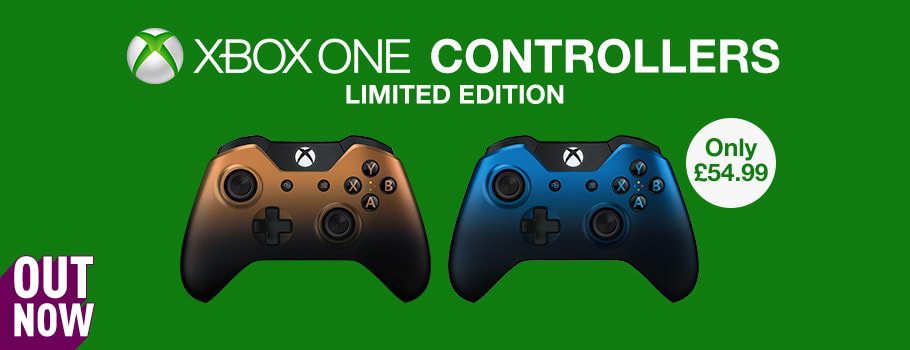 New Controllers for Xbox One - Copper Shadow and Dusk Shadow - Buy Now at GAME.co.uk!