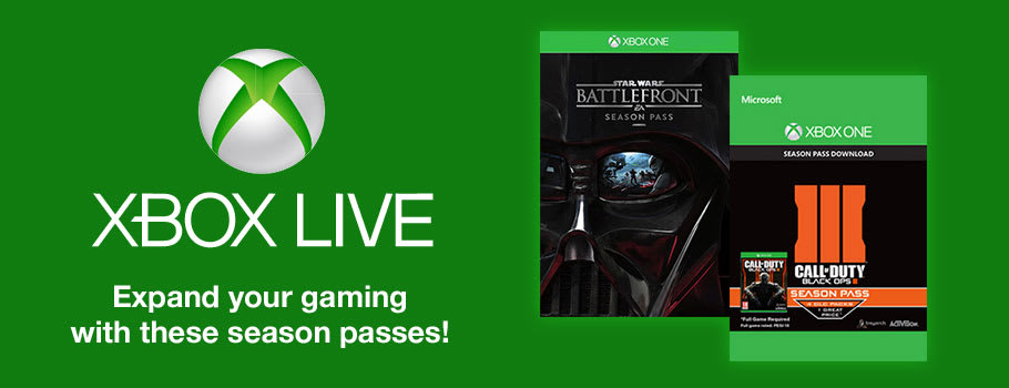 Season Passes for Xbox One on Xbox Live - Download Now at GAME.co.uk!