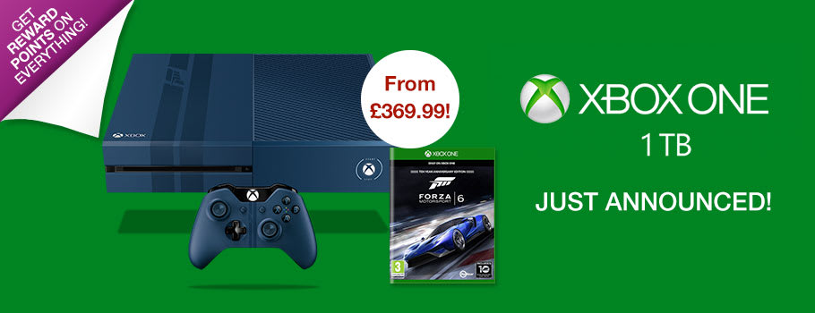 Xbox One 1TB Console - Preorder Now at GAME.co.uk!