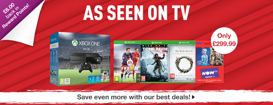 Xbox One TV Deals - Buy it Now at GAME.co.uk