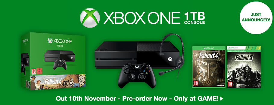Fallout 4 Xbox One Bundle - Preorder Now at GAME.co.uk!