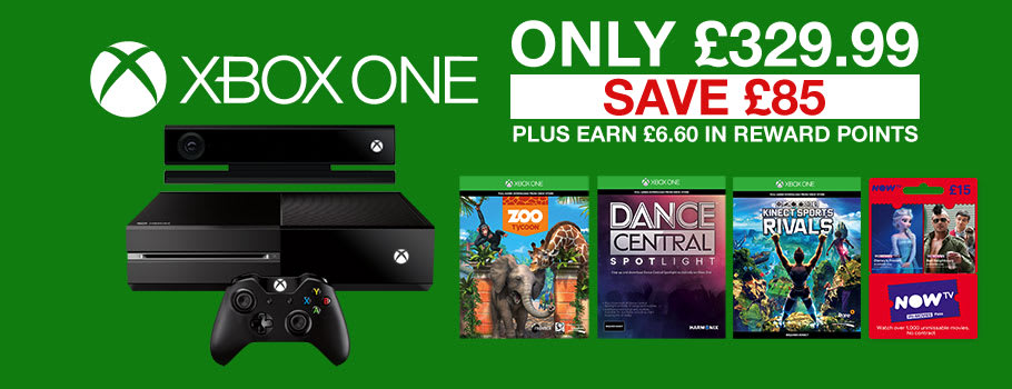 Xbox One 500GB and 1TB Console Bundles – Buy now at GAME.co.uk
