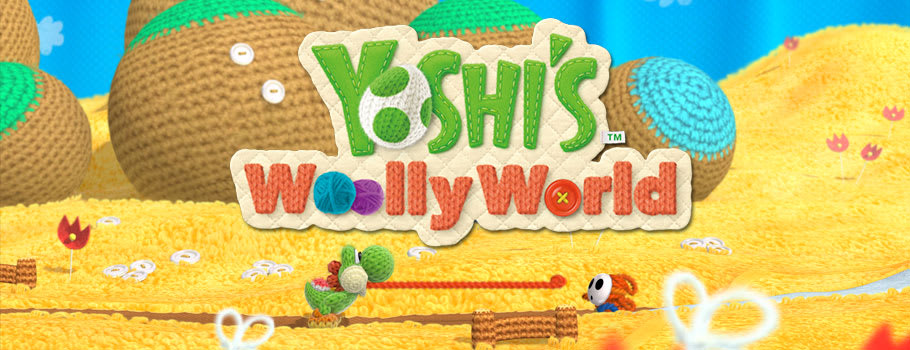 Yoshi's Woolly World for Nintendo Wii U - Preorder Now at GAME.co.uk!
