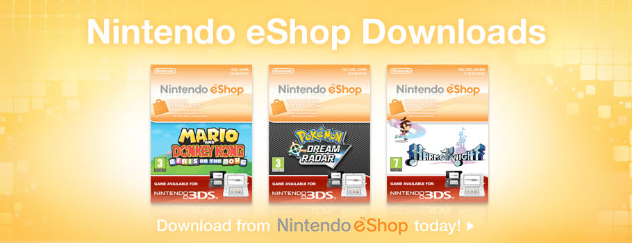 eShop Exclusive for Nintendo eShop - Download Now at GAME.co.uk!