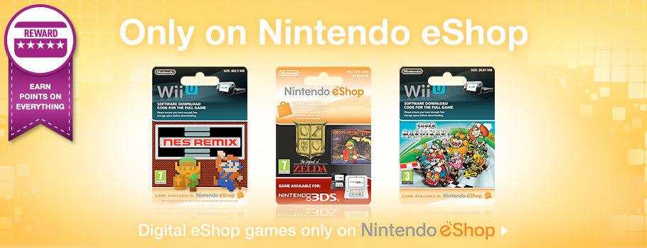 Only on eShop , for Nintendo eShop - Download Now at GAME.co.uk!