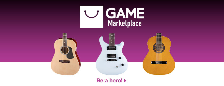 GAME Marketplace Guitars - Buy Now at GAME.co.uk!