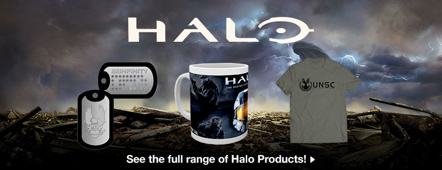 Halo Merchandise - Buy Now at GAME.co.uk Marketplace!