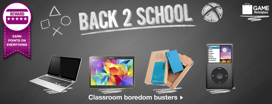 Back 2 School School Gadgets Buy Now at GAME.co.uk!