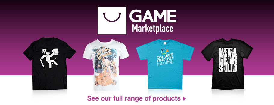 [T shirts] - Buy Now at GAME.co.uk!
