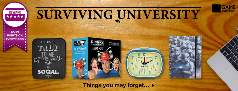 Surviving Uni - Buy Now at GAME.co.uk!