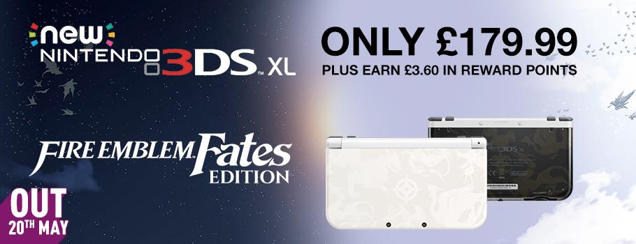 Fire Emblem Fates new Nintendo 3DS XL - Preorder Now at GAME.co.uk!
