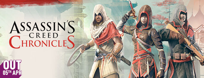 Assassin's Creed Chronicles for PlayStation VITA - Pre-order Now at GAME.co.uk!