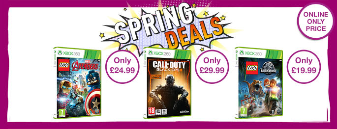 Bank Holiday Deals on Xbox 360 games - Buy now at GAME.co.uk