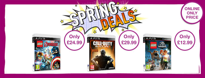 Bank Holiday Deals on PS3 games - Buy now at GAME.co.uk