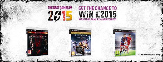 Best of 2015 for PlayStation 3 - Buy Now at GAME.co.uk!