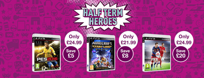 Half Term Heroes Deals for PS3 - Buy Now at GAME.co.uk!
