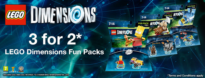 LEGO Dimension Fun Pack 3 for 2 for PS3 - Buy now at GAME.co.uk!