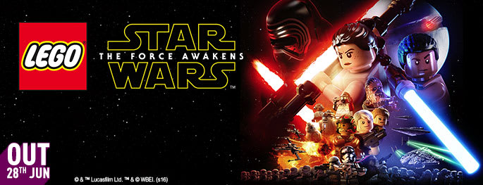 LEGO Star Wars: Force Awakens for Xbox 360 - Pre-order Now Only at GAME.co.uk!