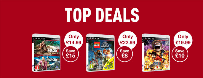 Top Deals on PS3 games - Buy now at GAME.co.uk