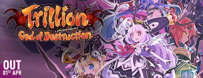 Trillion: God of Destruction for PlayStation VITA - Pre-order Now at GAME.co.uk!