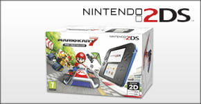 2DS with Mario Kart 7 for Nintendo 3DS - Buy Now at GAME.co.uk!
