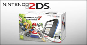 Nintendo 2DS with Mario Kart 7 Only £99.99