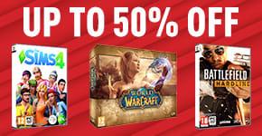 Up to 50% off on PC Games - Buy Now at GAME.co.uk!
