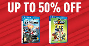 Up to 50% off for PlayStation VITA games - Buy Now at GAME.co.uk!