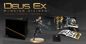 Deus Ex: Mankind Divided Collector's Edition - Only at GAME - Preorder now!