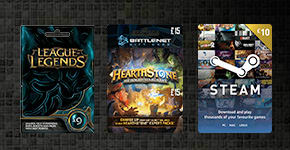 Digital Wallet Top-Ups for Steam, Blizzard and more - Buy Now at GAME.co.uk!