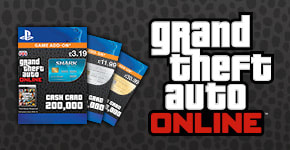 GTA Online Shark Cards for PlayStation 3 - Download Now at GAME.co.uk!