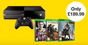 Pre-owned Xbox One with 3 select games - Buy Now at GAME.co.uk