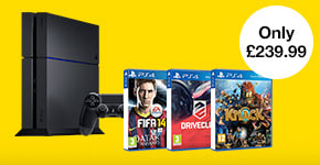 Pre-owned PS4 Console with 3 Games - Buy Now at GAME.co.uk!