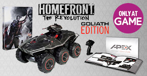 Homefront: The Revolutionon Xbox One, PS4 and PC – Pre-order now at GAME.co.uk