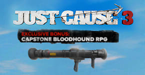 Only at GAME - Just Cause 3 Bloodhound RPG for PC - Preorder Now at GAME.co.uk!