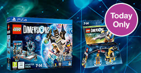 May Bank Holiday One Day Deals - LEGO Dimensions Starter Pack and LEGO Movie Fun Pack - Buy Now at GAME.co.uk!