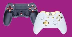 Custom Controllers for Xbox One and PS4 - Buy now from GAME.co.uk!
