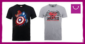 Up to Half price on new Movie Clothing from Marketplace - Buy Now at GAME.co.uk!