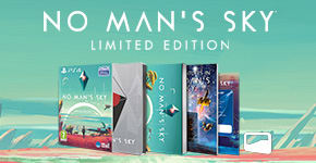No Man's Sky - Limited Edition Only at GAME for PS4 - Pre-order Now at GAME.co.uk!!