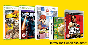 Pick 3 selected pre-owned games for £12 - Terms and Conditions apply - Buy Now at GAME.co.uk!