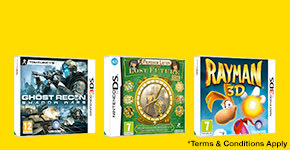 3 for 2 on Pre-owned  Nintendo 3DS and DS games - Buy Now at GAME.co.uk!