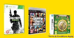 Get 3 for 2 on pre-owned games - Buy Now at GAME.co.uk!